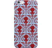 Muskrat Skull Pattern iPhone Case/Skin