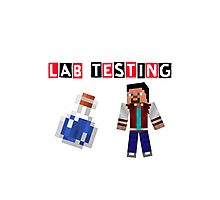 CC Lab testing Photographic Print