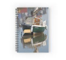 Little Green Boat Spiral Notebook