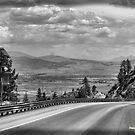 The Road Through The Sierra's by NancyC