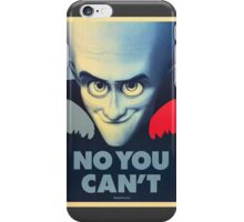 Megamind - Will Ferrell - Obama T-shirt iPhone Case/Skin