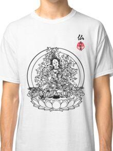 Floral Buddha Classic T-Shirt
