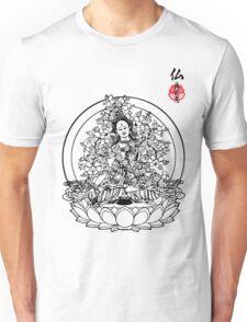 Floral Buddha Unisex T-Shirt