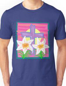 Jesus Easter Cross Unisex T-Shirt