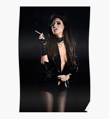 High Fashion Girl Fine Art Print Poster