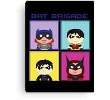 Bat Brigade Canvas Print