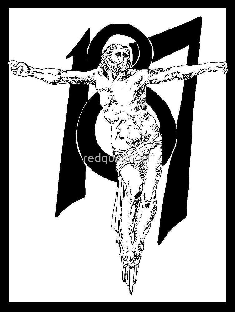187 Jesus by redqueenself