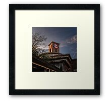 Park Royal Tube Station Framed Print