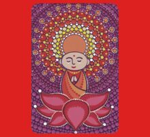 Jizo Meditating upon a Ruby Lotus Baby Tee