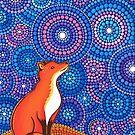Star Gazing Fox by Elspeth McLean