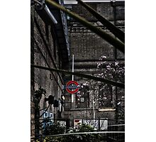 Parsons Green Tube Station Photographic Print