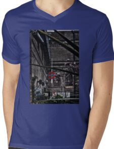 Parsons Green Tube Station Mens V-Neck T-Shirt