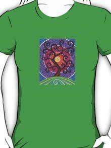 Spiralling Tree of Life T-Shirt