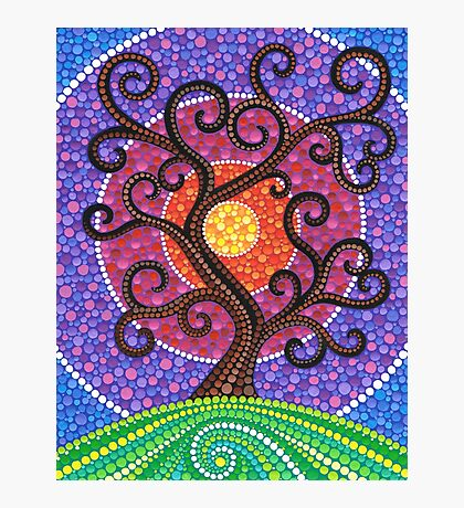 Spiralling Tree of Life Photographic Print