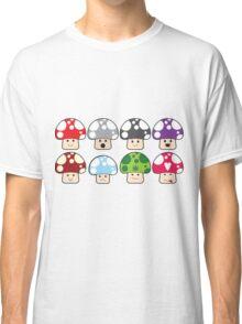 Colourful Mushrooms! Classic T-Shirt