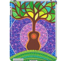 Guitar harmonic energy iPad Case/Skin