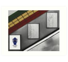 Piccadilly Circus Tube Station Art Print