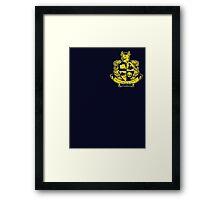 Bullworth Academy Crest Framed Print