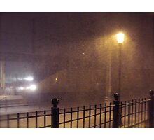 Blizzard Trains - HHP Power  © 2009.12.19 Photographic Print