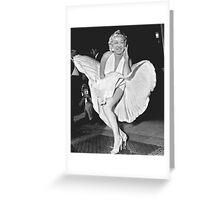 Marilyn Jong Un Greeting Card