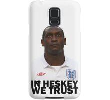 In HESKEY we trust - ENGLAND FOOTBALL Samsung Galaxy Case/Skin