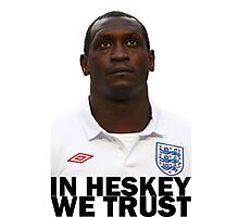 In HESKEY we trust - ENGLAND FOOTBALL Photographic Print