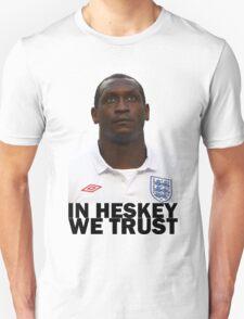 In HESKEY we trust - ENGLAND FOOTBALL T-Shirt