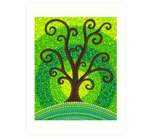 unfurling tree of lushiousness Art Print