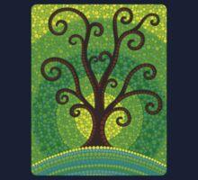 unfurling tree of lushiousness Kids Tee