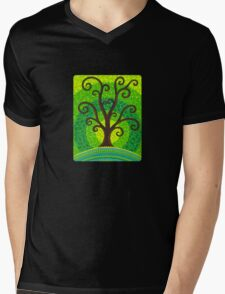 unfurling tree of lushiousness Mens V-Neck T-Shirt