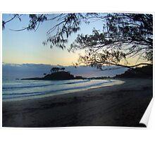"""Pebbly Beach"""" Poster"