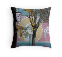 part of small town life Throw Pillow