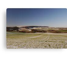 Sussex Snow Scene Canvas Print