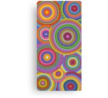 Cosmically dotti Canvas Print