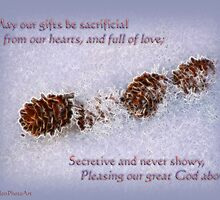 Sacrificial Gifts Inspirational by vigor