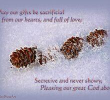 Sacrificial Gifts Inspirational by vigor