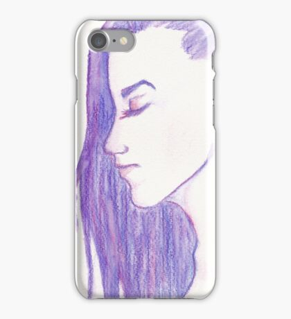 Purple Profile iPhone Case/Skin