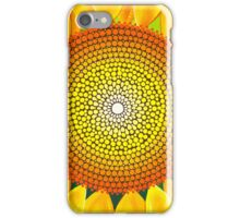 Beautiful sunflower of summer iPhone Case/Skin