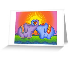 Love at its heartiest Greeting Card