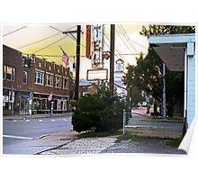 Downtown Ellenville, New York Poster