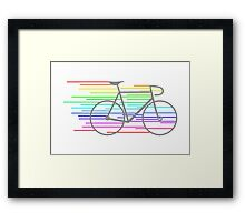 Rainbow Fixed Framed Print