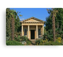 King William's Temple, Kew Gardens Canvas Print