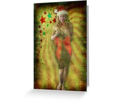 Ms. Claus Greeting Card