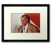 MISTER Hockey Framed Print