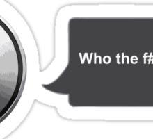 Apple Siri Voice Funny  Sticker
