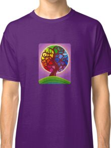 Rainbow Orb Tree of life Classic T-Shirt