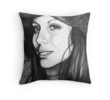 Katie Young Throw Pillow