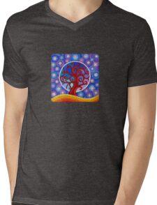 moontime illuminated orb tree Mens V-Neck T-Shirt