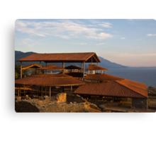 Ohrid Basilica Canvas Print