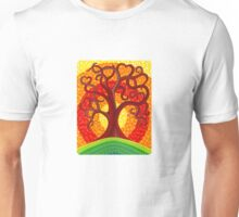 Autumn Illuminated Tree Unisex T-Shirt